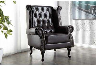 Fauteuil design chesterfield