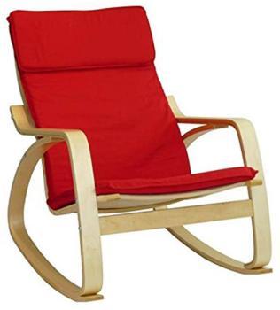 Rocking chair bjorn rouge