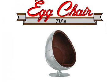 Fauteuil pivotant Oeuf Egg