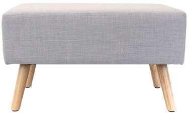 Banc ELIN coloris gris clair