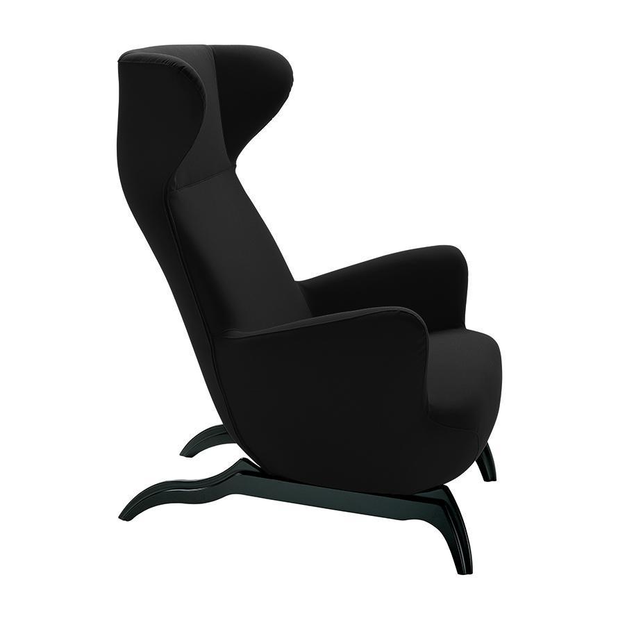 ZANOTTA fauteuil ARDEA (Noir