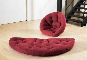 Nest Nido futon bordeaux