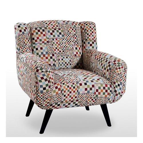 Fauteuil patchwork design