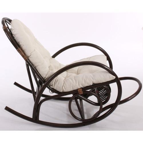 Rocking-chair avec coussin
