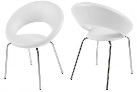Chaise design blanc Play