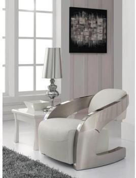 Fauteuil Design Blanc