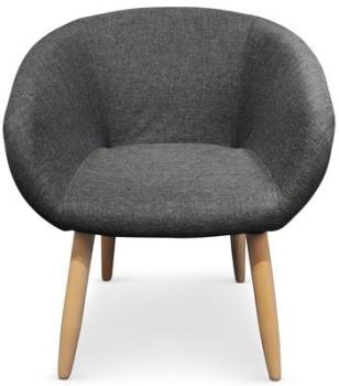 Chaise Fauteuil style scandinave