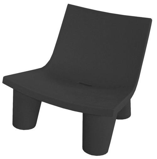 SLIDE fauteuil LOW LITA (Noir