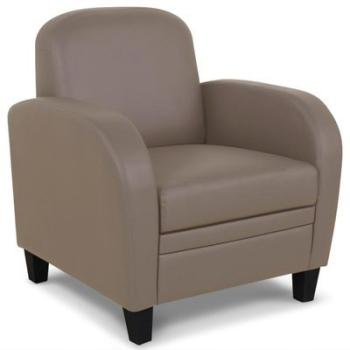 Fauteuil Club Dameo Taupe