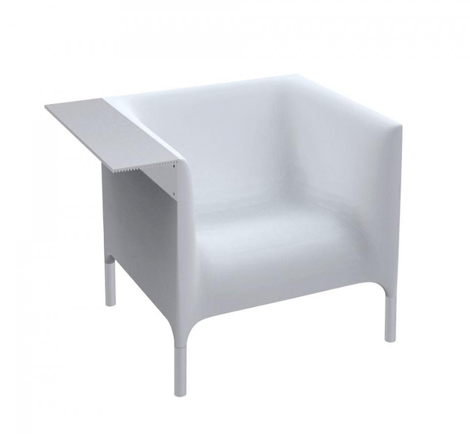 DRIADE fauteuil OUT IN (Blanc