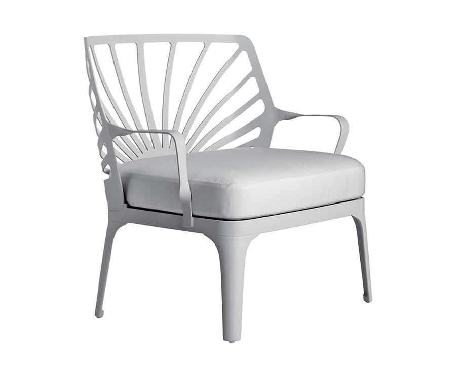 DRIADE fauteuil SUNRISE (Blanc