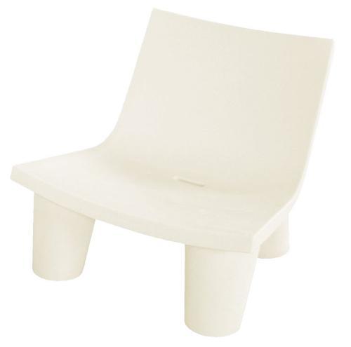SLIDE fauteuil LOW LITA (Blanc