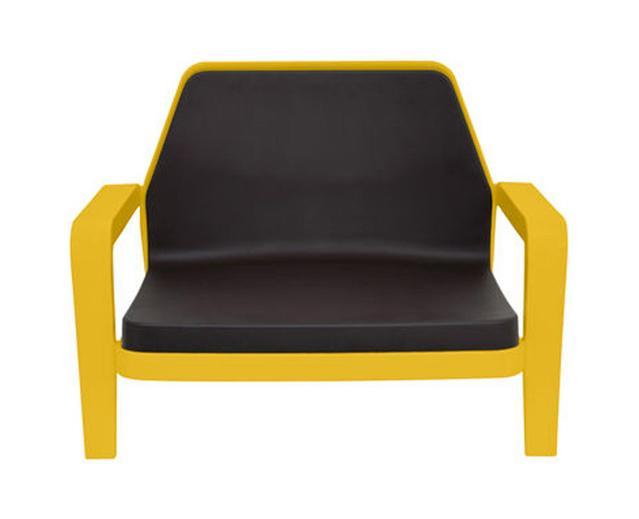 SLIDE fauteuil AMERICA (Jaune