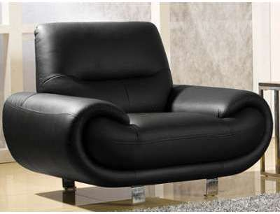 Fauteuil cuir 1 places ANGIE