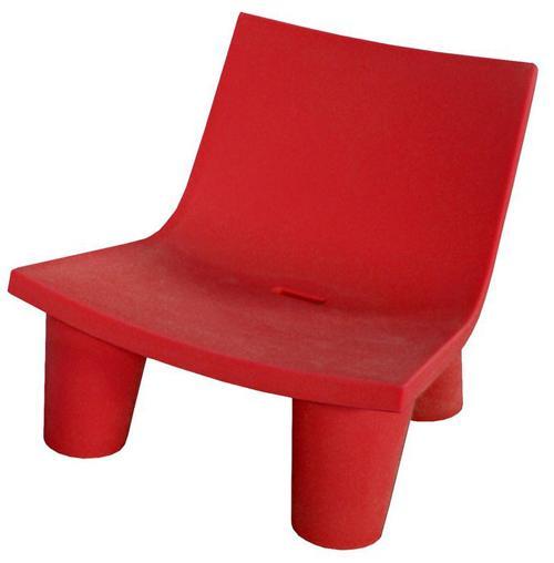SLIDE fauteuil LOW LITA (Rouge