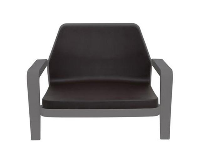 SLIDE fauteuil AMERICA (Gris