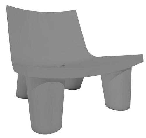 SLIDE fauteuil LOW LITA (Gris