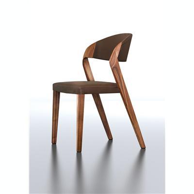 Chaise design en chêne ou