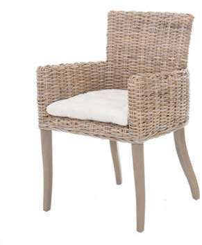 SOLDES Fauteuil club INES