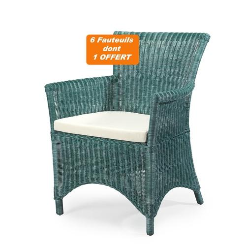 SOLDES Lot de 6 fauteuils
