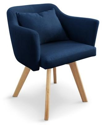 Lot de 2 fauteuils scandinaves