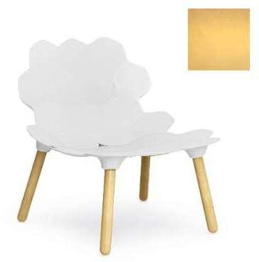 SLIDE fauteuil TARTA (Or opaque