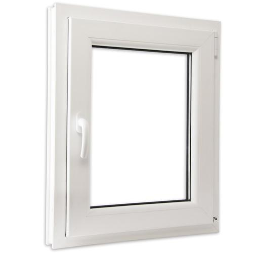 VidaXL Fenêtre PVC triple