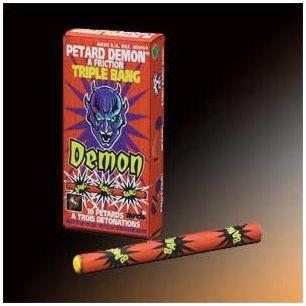 Pétards Demon Triple Bang