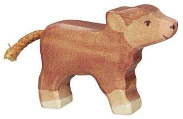 Petite Vache Highland en bois