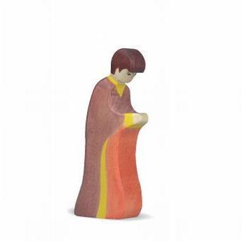 Figurine de Joseph en bois