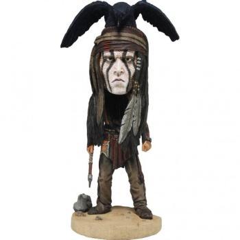 Lone Ranger Figurine Bobbing