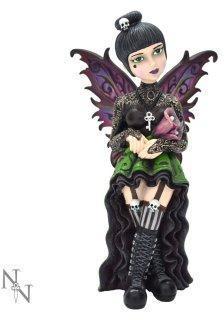 Figurine fée gothique Little