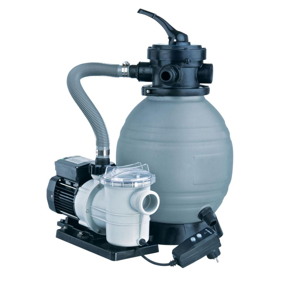 Set filtration Poolfilter