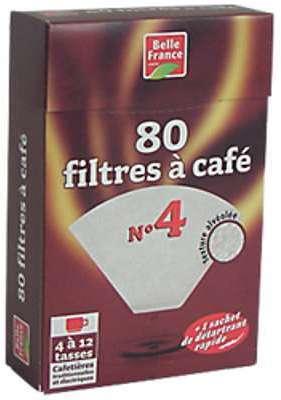 80 filtres pour café - Belle