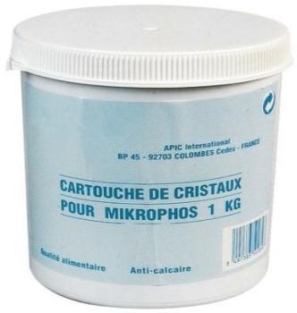 Cristaux polyphosphate 15