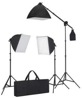 VidaXL Kit éclairage studio