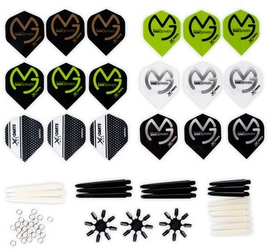 XQmax Darts MvG Kit d accessoires