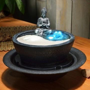 Fontaine lumineuse YingYang