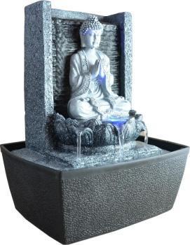 Fontaine Bouddha en méditation