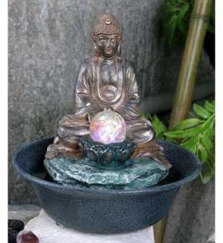 Fontaine en Polyrésine Bouddha