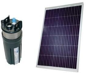 Kit pompe solaire 80W puits