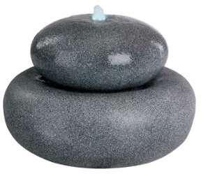 Fontaine ronde granite LED