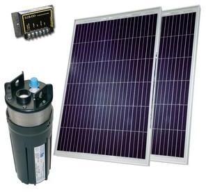 Kit pompe solaire 2x80W puits