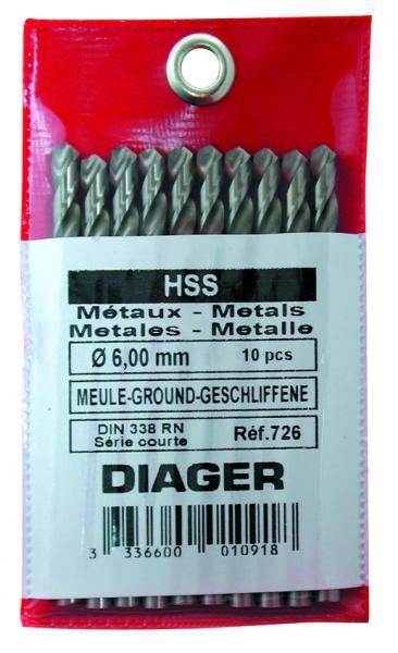 Foret HSS Pro Métal DIAGER