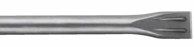 Burin plat SDS-plus longueur
