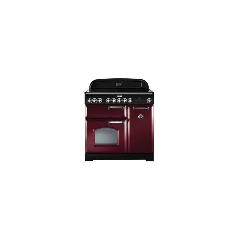 cuisini re falcon classic deluxe 90 vitroc ramique rouge. Black Bedroom Furniture Sets. Home Design Ideas