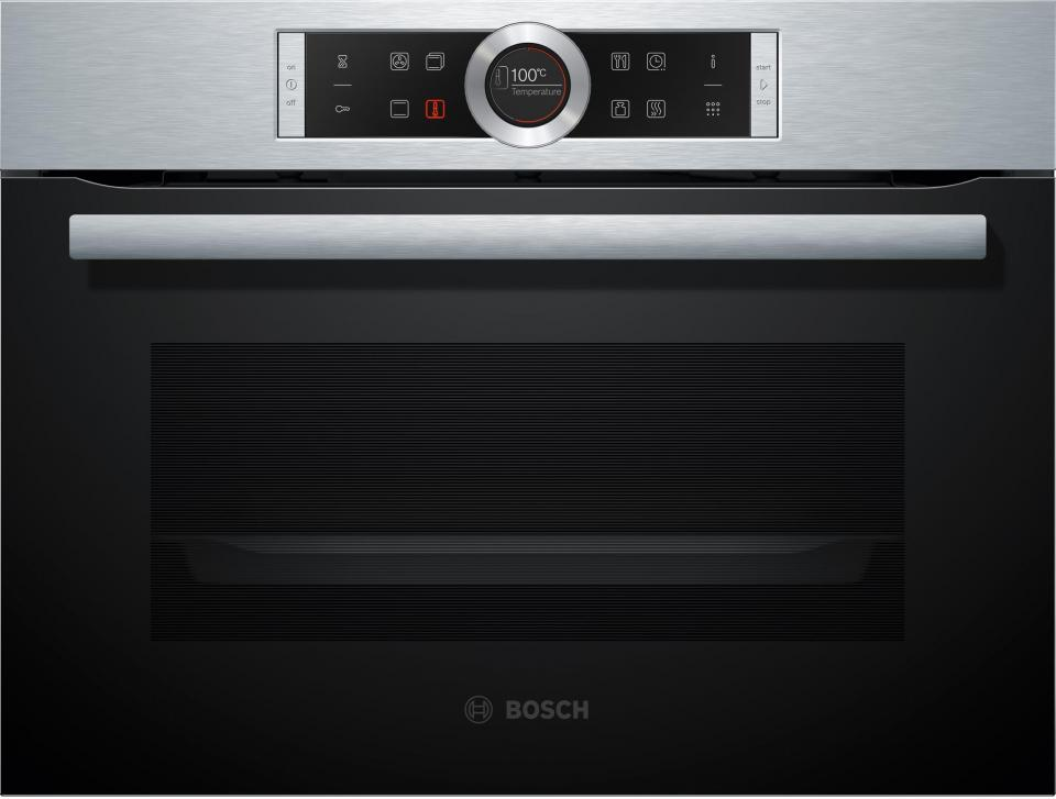 bosch cbg675bs1 four compact pyrolyse 47l 13 modes inox. Black Bedroom Furniture Sets. Home Design Ideas