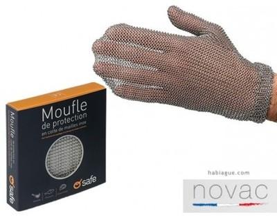 Moufle cotte de maille o safe