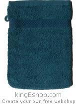 Gant de toilette Pétrole