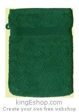 Gant de toilette Vert Foret